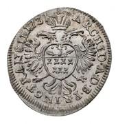 1 Krajczár - III. Károly (1711-1740) – reverse
