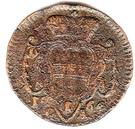 1 Pfennig - Mária Terézia – reverse