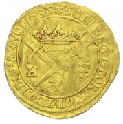 1 Ducat - Sibiu (With title of Rudolf II) – obverse