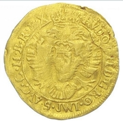1 Ducat - Sibiu (With title of Rudolf II) – reverse