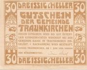 30 Heller (Traunkirchen) -  reverse