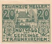 20 Heller (Traunkirchen) -  obverse
