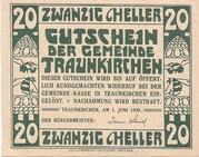 20 Heller (Traunkirchen) -  reverse