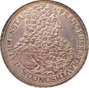 1 Thaler - Franz Eusebius -  obverse
