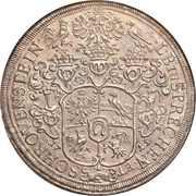 1 Thaler - Franz Eusebius -  reverse