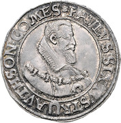 ½ Thaler - Paul Sixtus I – obverse