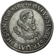 1 Thaler - Paul Sixtus I – obverse