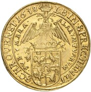 10 Ducat - Johann Franz – reverse