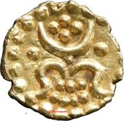 ½ Anantaraya ( 1 Fanam ) - Karthika Thirunal Rama Varma – obverse