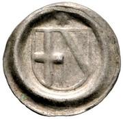 1 Heller - Johann II. von Baden – obverse