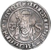1 Blanken - Johann II. von Baden – obverse