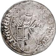 ½ Weißpfennig - Johann II. von Baden – obverse