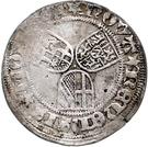 ½ Weißpfennig - Johann II. von Baden – reverse