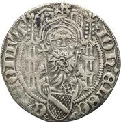 1 Weißpfennig - Johann II. von Baden – obverse
