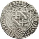 1 Weißpfennig - Johann II. von Baden – reverse