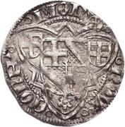 1 Schilling - Johann II. von Baden – reverse