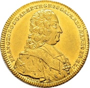 2 Ducat - Franz Georg von Schönborn – obverse