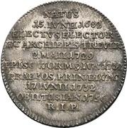⅛ Thaler - Franz Georg von Schönborn (Death) – reverse