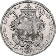 ½ Thaler - Clemens Wenzel von Sachsen (½ Konventionstaler) – reverse