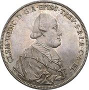 1 Thaler - Clemens Wenzel von Sachsen (Konventionstaler) – obverse
