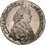 ½ Thaler - Clemens Wenzel von Sachsen (1/2 Konventionstaler) – obverse
