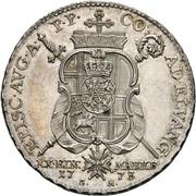 ½ Thaler - Clemens Wenzel von Sachsen (1/2 Konventionstaler) – reverse