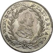 20 Kreuzer - Clemens Wenzel von Sachsen – obverse