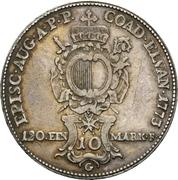 10 Kreuzer - Clemens Wenzel von Sachsen – reverse