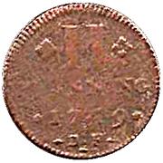 2 Pfennig - Franz Georg von Schönborn – reverse