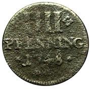 4 Pfennig - Franz Georg von Schönborn – reverse