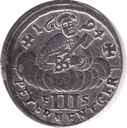 3 Albus - Johann Hugo von Orsbeck – reverse
