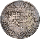 1 Weißpfennig - Jakob I von Sierck (Koblenz) – reverse