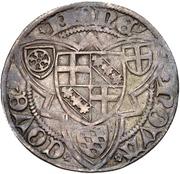 1 Weißpfennig - Jakob I von Sierk (Koblenz) – reverse