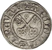 ½ Schilling - Bohemond II von Saarbücken – reverse