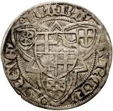 1 Groschen - Raban of Helmstedt – reverse