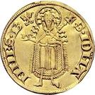 1 Goldgulden - Kuno II. von Falkenstein (Koblenz) – reverse