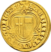 1 Goldgulden - Kuno von Falkenstein (Oberwesel) – reverse