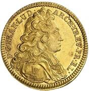 1 Ducat - Franz Ludwig von Pfalz-Neuburg – obverse