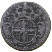 ½ Petermännchen - Franz Ludwig von Pfalz-Neuburg – obverse