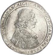 1 Thaler - Johann Hugo von Orsbeck – obverse