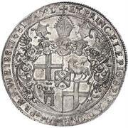 1 Thaler - Johann Hugo von Orsbeck – reverse