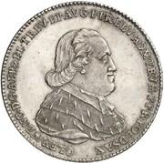 1 Thaler - Clemens Wenzel von Sachsen – obverse