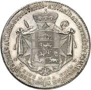 1 Thaler - Clemens Wenzel von Sachsen – reverse