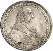 1 Thaler - Johann Philipp von Walderdorff – obverse