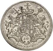 1 Thaler - Johann Philipp von Walderdorff – reverse