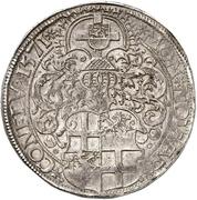 1 Thaler - Jakob III. von Eltz – reverse