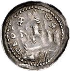 1 Pfennig - Theoderich II. (Dietrich) von Wied – obverse