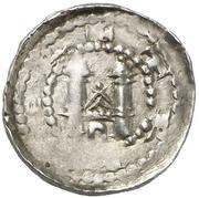 1 Pfennig - Hillin von Falmagne – reverse