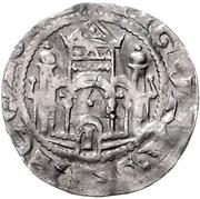1 Pfennig - Udo von Nellenburg – reverse