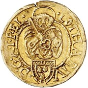1 Goldgulden - Lothar von Metternich – obverse